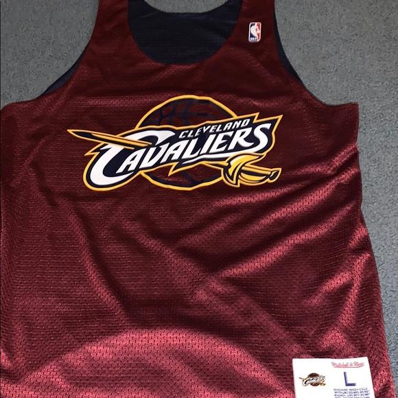 buy popular 28e01 45c9f *reversible* Cleveland Cavaliers mesh team jersey